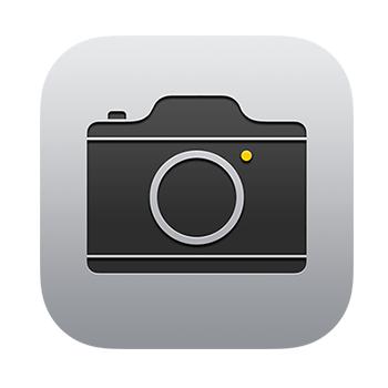 iphoneカメラアイコン