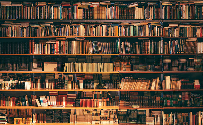 図書館、ライブラリーの画像